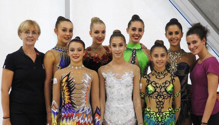 La Rhythmic School al Torneo Internazionale di Udine