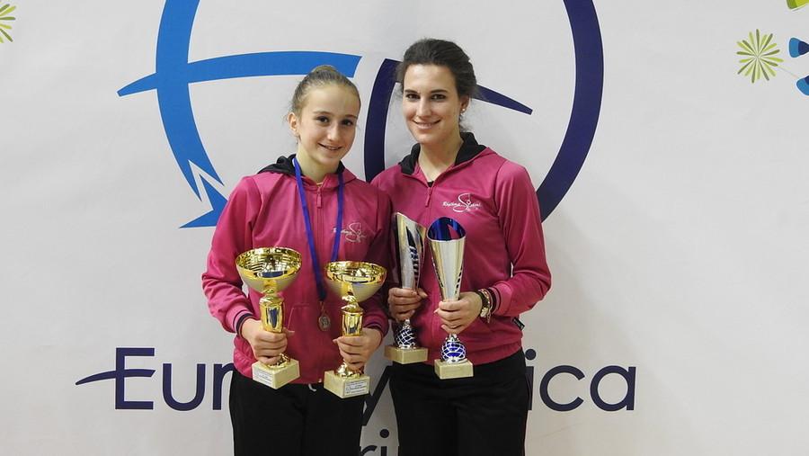 Dominio Rhythmic School, Alberti e Lideo campionesse regionali