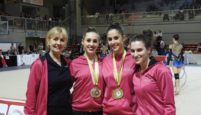 Ginnastica: Alberti, Lideo e Larice accedono alle finali nazionali di specialità Gold