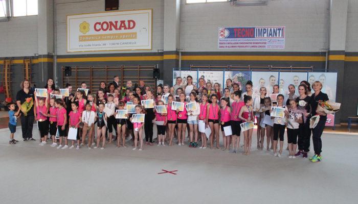 Festa di fine corsi per la Rhythmic School