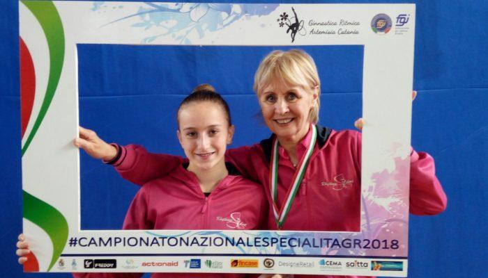 Bronzo nazionale per Arianna Larice a Catania