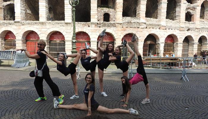 La Rhythmic School in gara a Verona nella PalaFerroli Cup 2018