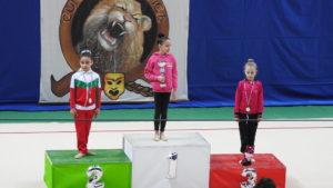 Rhythmic School in grande spolvero nella prima prova del campionato regionale individuale di Ginnastica Ritmica