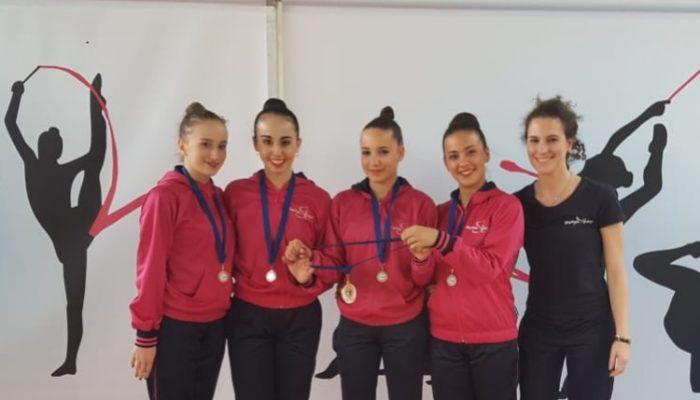 Rhythmic School d'oro anche a Vezza d' Alba