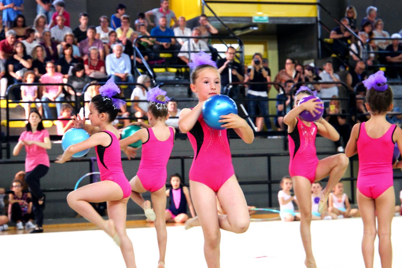 Festa di fine corsi per le atlete della Rhythmic School