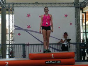 Arianna Larice medaglia d'oro a Rimini alla Festa della Ginnastica, nuovo titolo nazionale per le atlete della Rhythmic School