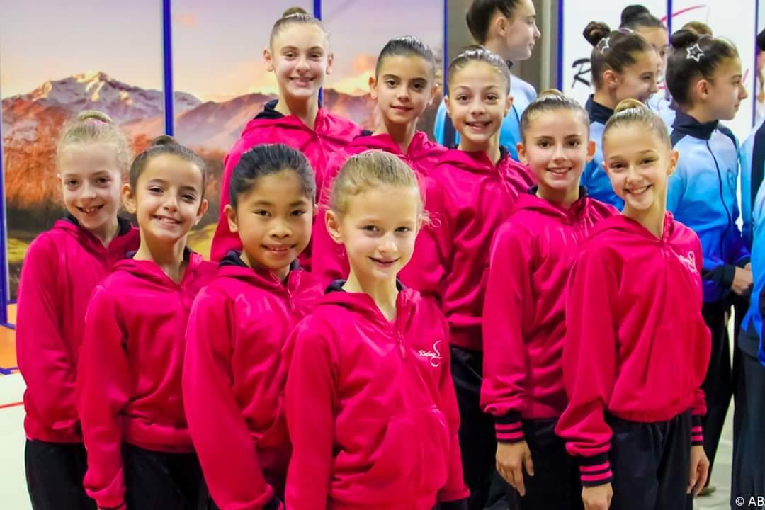 Due medaglie d'oro per la Rhythmic School nel torneo delle Regioni