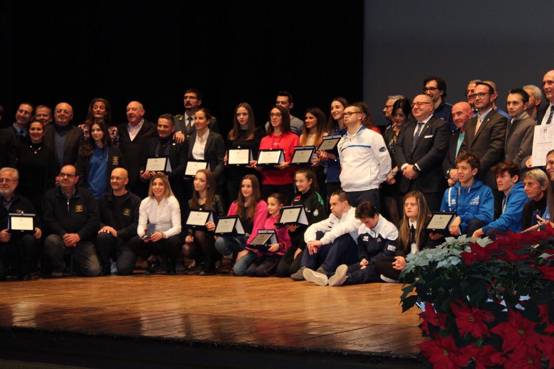 Arianna Larice e Giulia Sapino premiate dal Coni
