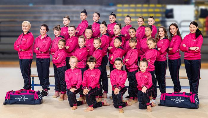 Tatiana Shpilevaya a Rimini agli allenamenti nazionali Allieve e Junior Gold. Lunedì 7 settembre ripartono i corsi della Rhythmic School presso il palasport di Candelo