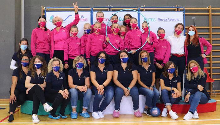 Rhythmic School nuovamente a segno: Un oro ed un bronzo per le RSgirls nella prova regionale di Serie D.
