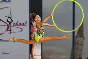 Rhythmic School stellare: tre ori, due argenti ed un bronzo nel week end.