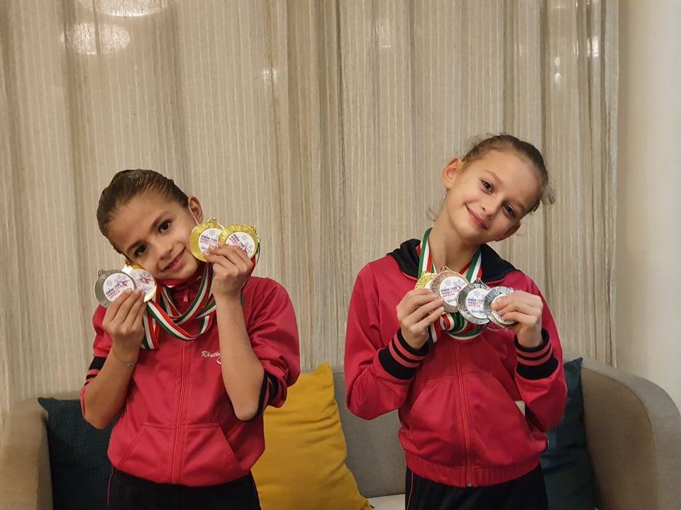 Pioggia di titoli nazionali per la Rhythmic School alla Winter Edition di Rimini.