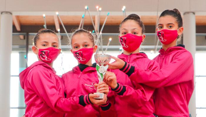 Rhythmic School stellare anche nella terza giornata delle Finali Nazionali di Rimini. Le RSgirls conquistano altri sei titoli nazionali e quattro medaglie d'argento.