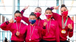 Nuovi successi per le RSgirls nell'ultima giornata della Ginnastica in Festa-Winter edition. Gaia Ramella Pezza due volte d'oro.