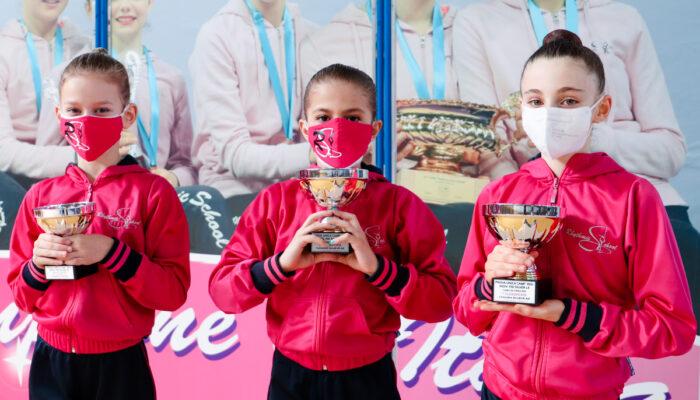 Due ori e due argenti per le RSgirls nel regionale individuale FGI silver allieve LC ed LE.