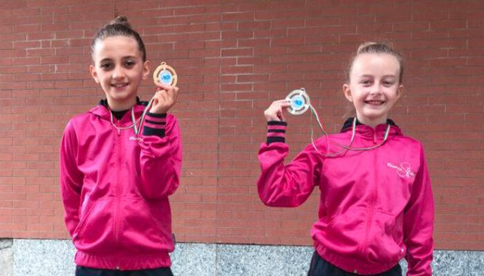 Pioggia di medaglie d'oro per la Rhythmic School nell'interregionale AICS di ginnastica Ritmica.
