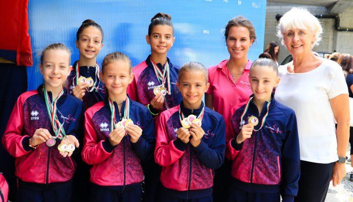 La Rhythmic School brilla al torneo internazionale di Morbegno.